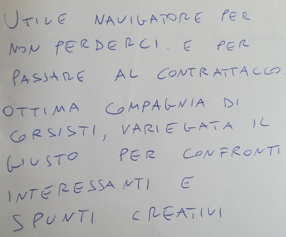 Recensioni e feedback al Master Comunicazione e Digital Marketing